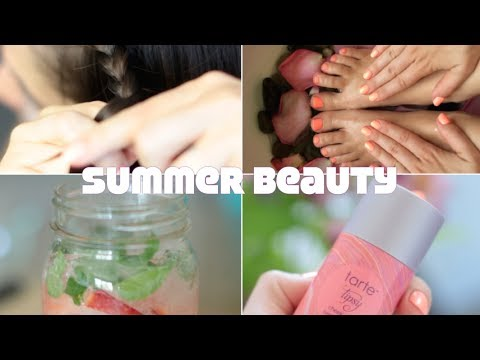 Summer Time Beauty Routine (Head-To-Toe) | Rachel Talbott