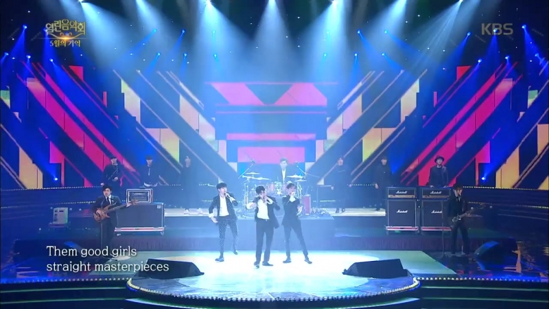 The East Light - Real Man Up Town Funk \ Medley \