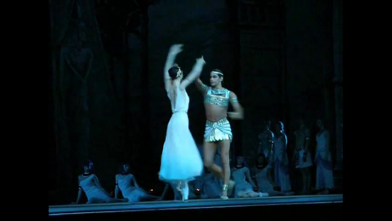La Filled du Pharaon. 19 Feb2008. Moscow. Bolshoi