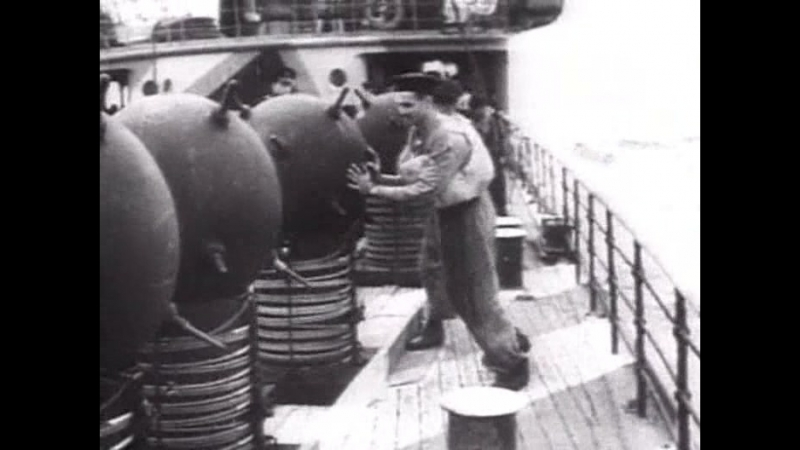 Война-1941-1945-10 Сражение на море ЛИВНЫ Документальное кино