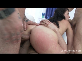 Curvy slut tanika goes for wicked anal pounding  double pussy (pawg anal  dp)