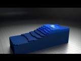 Blender 3D- Lego Fluid Effect