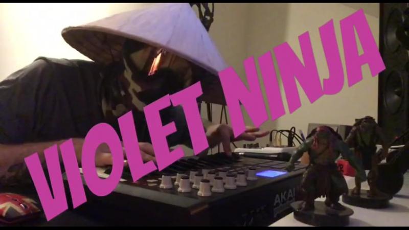 Violet ninja invite to DOMBAI FEST