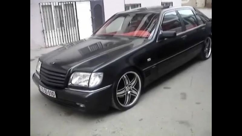 W140 500 sel wheels 20 Lorinser Baku