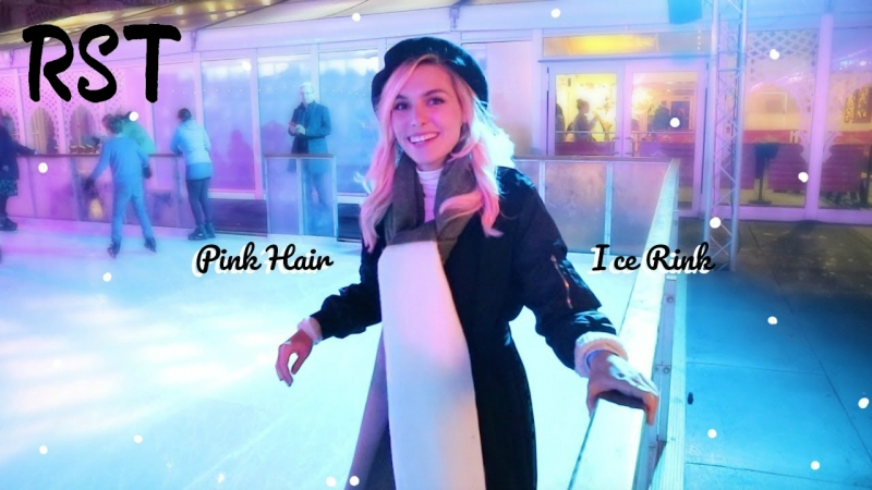 Pink Hair Ice Rink | VLOG (русские субтитры)