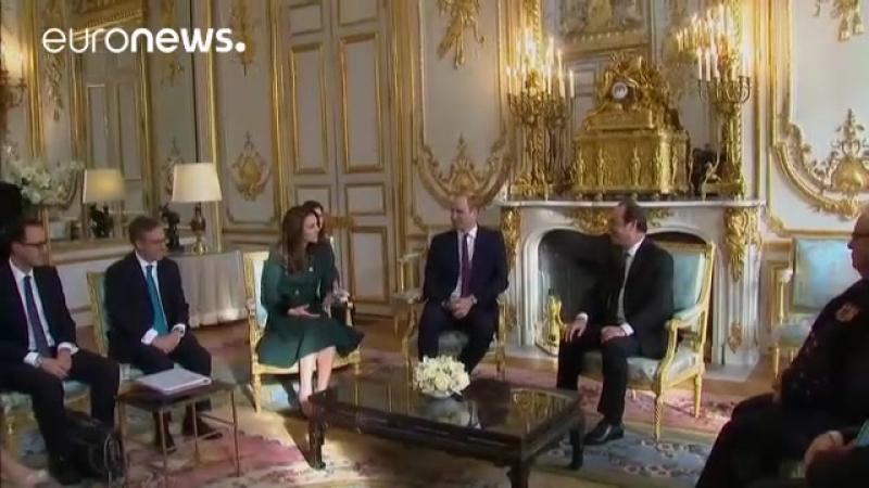 Los duques de Cambridge tratan de restaсar en Francia las heridas abiertas por el brexit