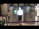 Крым. Новый Аэропорт Симферополь. Вечер 17 апреля 2018 год