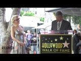 David Duchovnys message to Gillian Anderson - Hollywood Walk of Fame Ceremony J