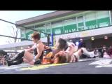 Shoko Nakajima, Yuka Sakazaki vs. Hikari, Yuu (TJP - Yokodai Station Pro-Wrestling 2018 - Part 1)