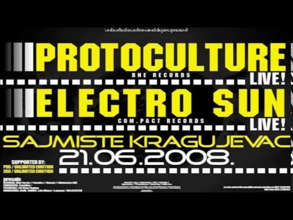 Electro Sun - Live Set Kragujevac- Sajmiste Serbia [2008]
