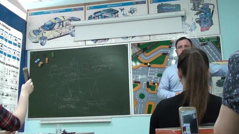Презентация Артёма Гефнидера в Череповце 3 часть