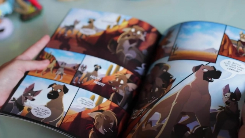 Up and Ahead - The PRINTED comic! (IndieGoGo Campaign)