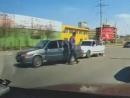Самые быстрые разборки на дороге
