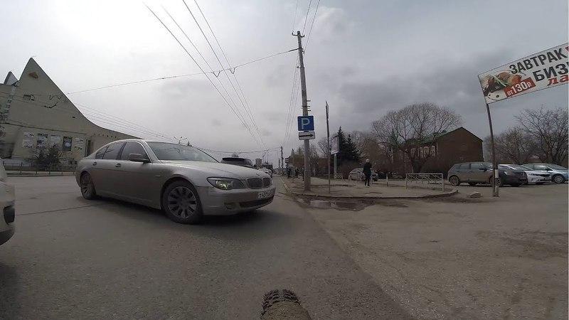 Круто завернувший)) г.Омск Город глазами велосипедиста 138