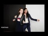Britt Robertson i Jasmin Savoy Brown - 2018 Winter TCA Portrait Studio