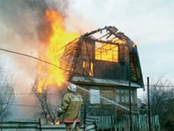Жители томского поселка жалуются на регулярные поджоги дачных домов