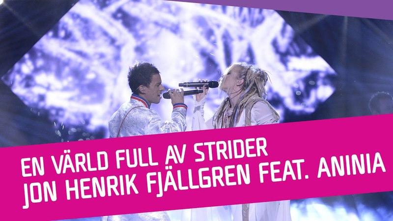 Jon Henrik Fjällgren feat. Aninia – En värld full av strider (Eatneme gusnie jeenh dåaroeh)