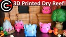 3D Printed Slime Rancher! - Dry Reef Environment - Rocks and Trees