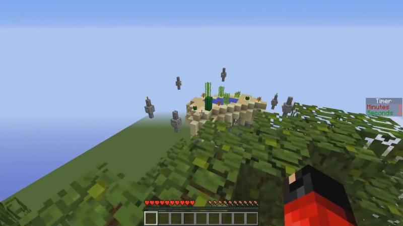 [Demaster] ОГРОМНАЯ РАДУЖНАЯ БАШНЯ ПАРКУРА! МЫ С ТЕРОСЕРОМ ОТЛИЧНАЯ КОМАНДА! Minecraft parkour
