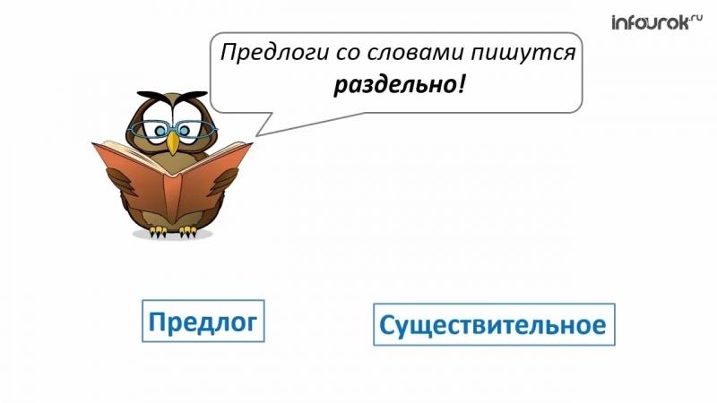 Предлоги и их написание с другими словами _ Русский язык 2 класс 21 _ Инфоурок