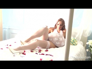 Abbi Secraas beautiful BUSTY BRIDE video - just fantasy -)