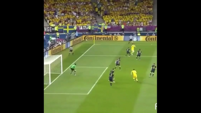Україна перемагає Швецію на Євро-2012