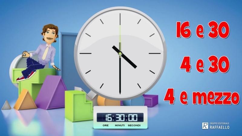 Lessico 04 L'orologio