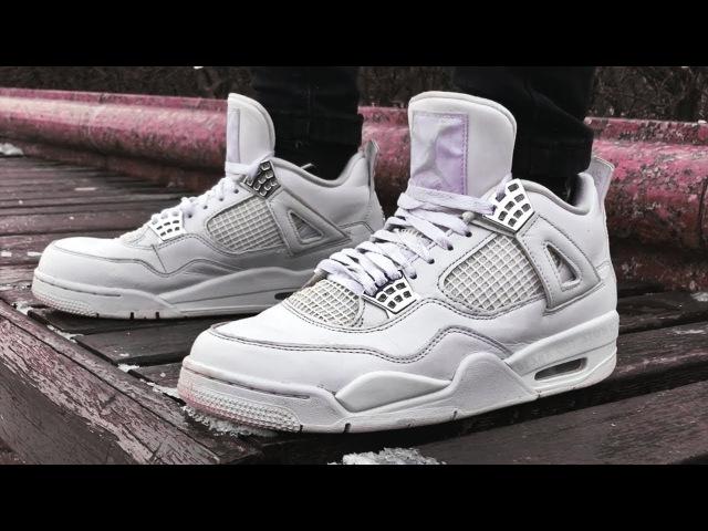 Air Jordan 4 Retro Pure Money x Coffee Gang