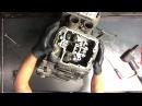 1 4 Suzuki Intruder VL 1500 Engine Motor Tear Down Case Split VL1500 Disassemble Rebuild V Twin