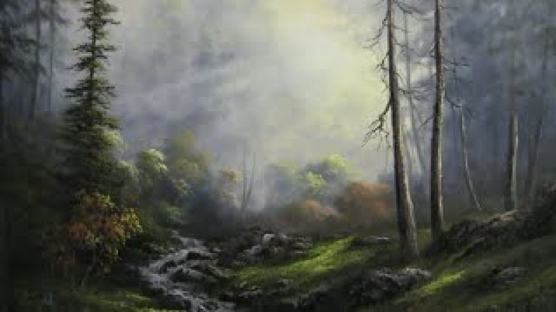 Paint with Kevin Hill - Sunlit Creek