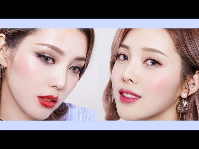 Lovely Chic cool-tone makeup with innisfree (With subs) 반전 쿨톤 메이크업