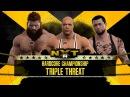 WFW NXT - Sgt. Payne vs Kurt Angle vs Koljan Styles [Hardcore Championship]