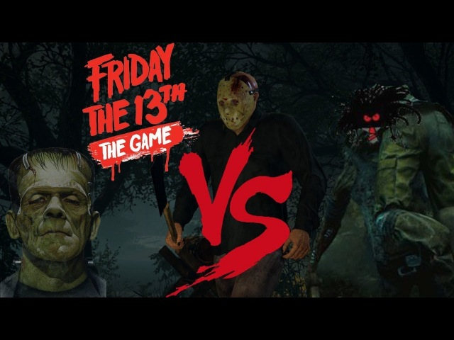 Friday the 13th: The Game — Frankenstein vs BC кто кого?