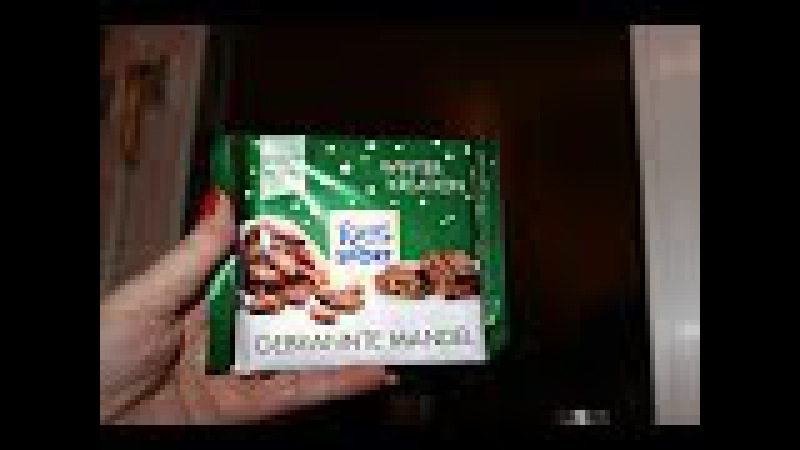 Европейские сладости шоколад Ritter Sport Winter Kreation Gebrannte Mandel