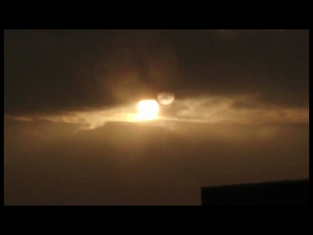 Two suns video was taken on the 13th of January at 8:48am. 2018 in London.
