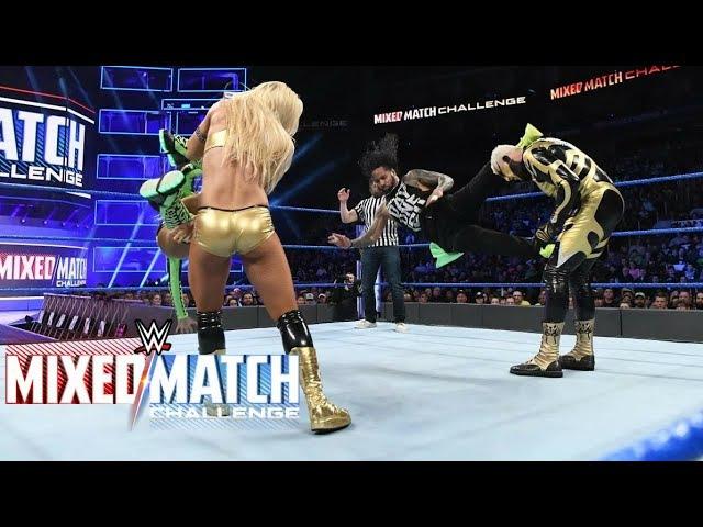 WWE Mixed Match Challenge Highlights 6th February 2018 Jimmy Uso Naomi Vs Goldust Mandy Rose