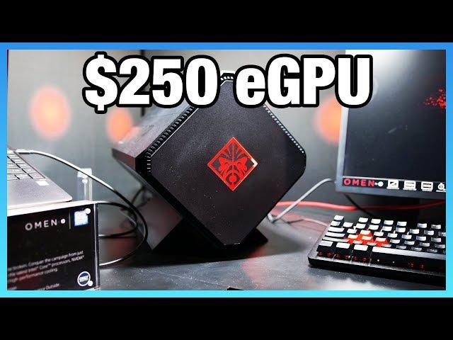 Omen Accelerator Hands On $250 Graphics Enclosure