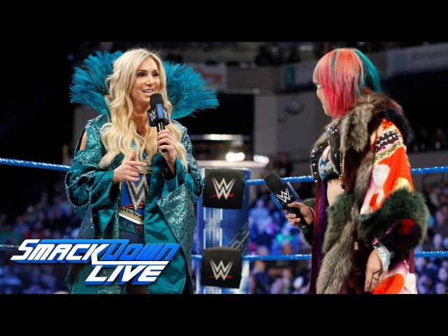 Asuka explains why she chose to face Charlotte Flair at WrestleMania SmackDown LIVE March 13 2018