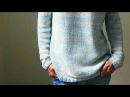 СВИТЕР ТеЛьНяШкА 🏅 СПИЦАМИ Мастер Класс Вязание Knit Mom