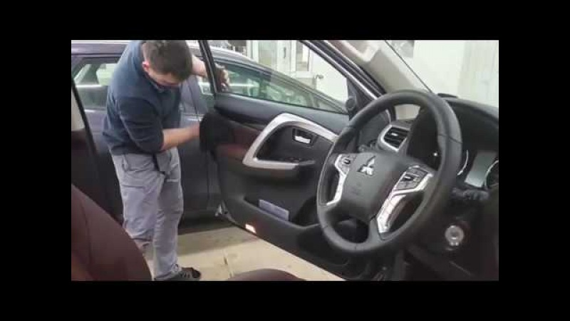 Автоателье SealAuto / Перетяжка салона Mitsubishi Pajero Sport