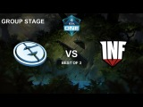 EG vs Infamous LB Bo3 Game 2 Group Stage ESL One Katowice
