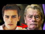 Alain Delon Change from childhood to 2017