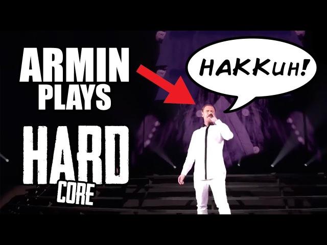Armin van Buuren plays Gabber and Hardcore Hakken