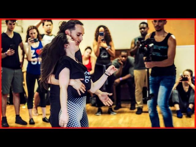 Ry'el Jessica Lamdon - LambaZouk Dance - New York City Zouk Festival 2017 - Quick vs Slow