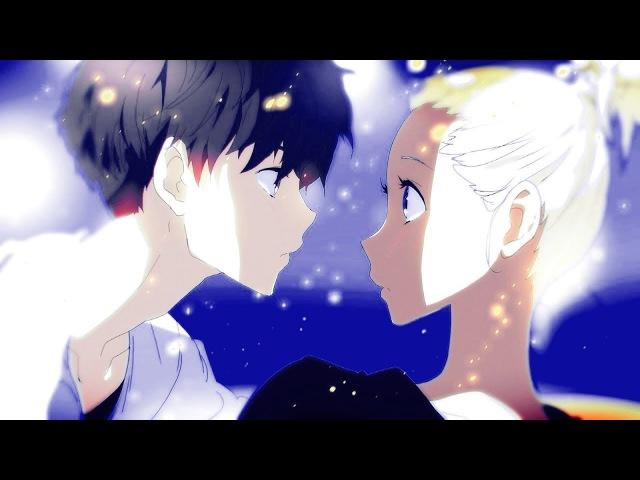 Романтичный аниме клип про любовь - Ты мой рассвет в самый тёмный день
