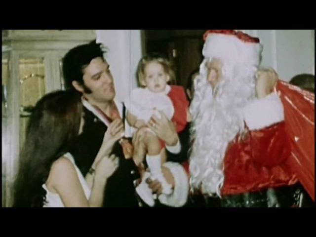 Elvis 'On A Snowy Christmas Night' with ultra rare film of Elvis