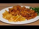 Рецепт молния Жаренные сочные нежные куриные окорочка