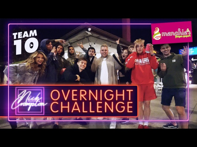 24 HOUR OVERNIGHT CHALLENGE AT MENCHIE'S FROZEN YOGURT