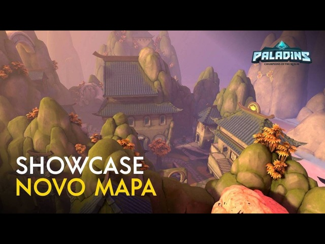 Paladins - Novo Mapa - Terra das Folhas de Carvalho