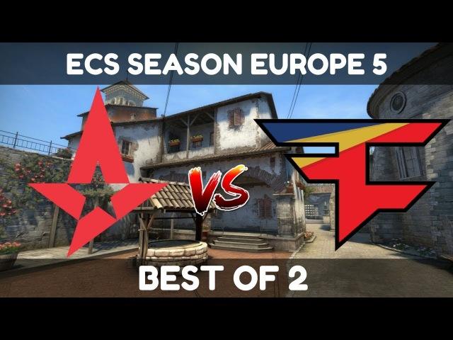 Astralis vs FaZe (Inferno) - Highlights - ECS SEASON 5 EUROPE